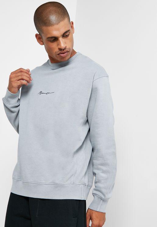 Logo Signature Essential Sweatshirt