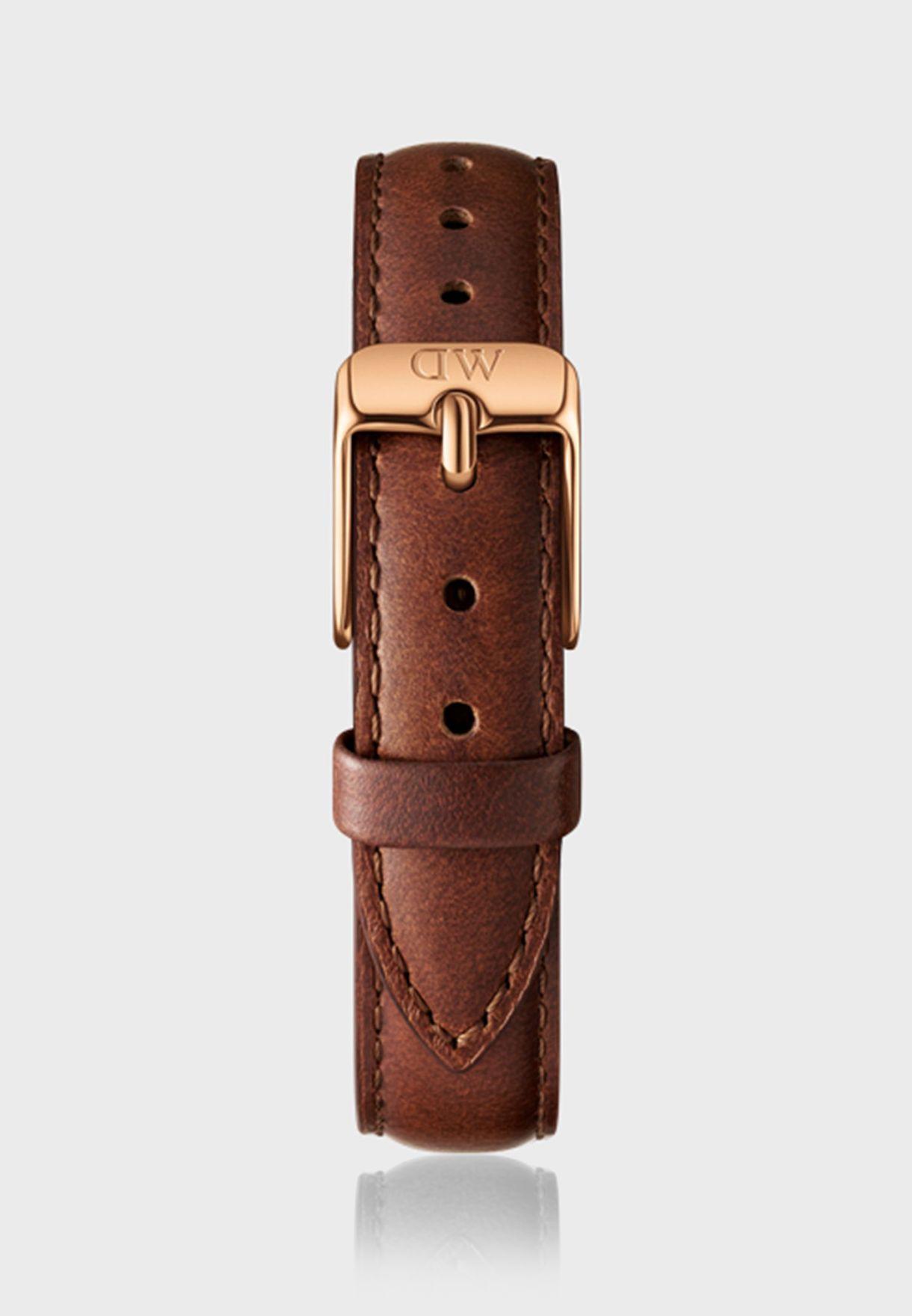 ساعة بيتيت ميل روز + حزام ساعة ماويس