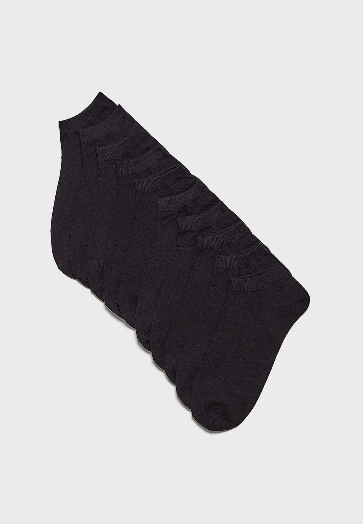 Dongo 10 Pack Ankle Socks