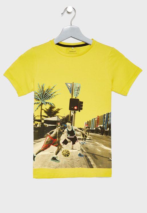 Kids Photographic T-Shirt