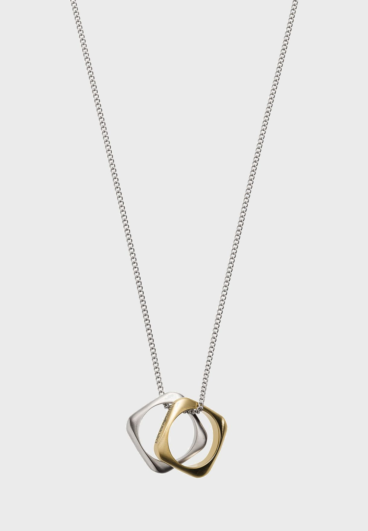 EGS2709040 Steel Pendant Necklace