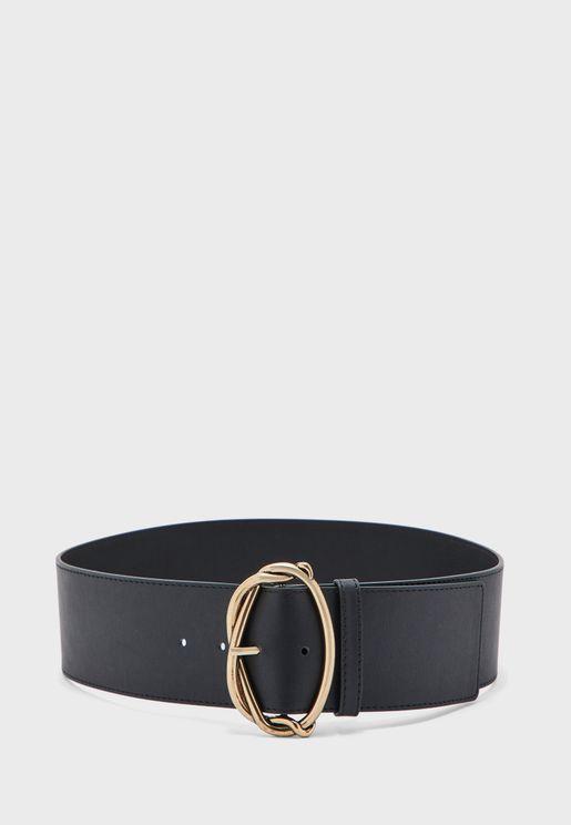 Knot Wide Buckle Belt