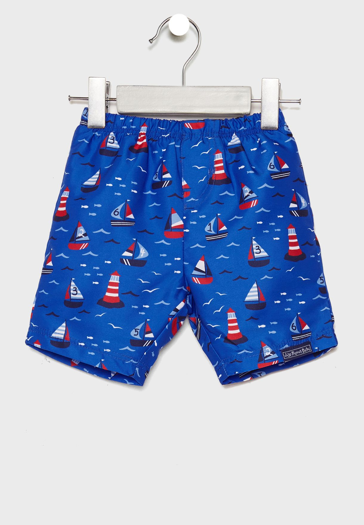 Infant Printed Swim Shorts with Nappy