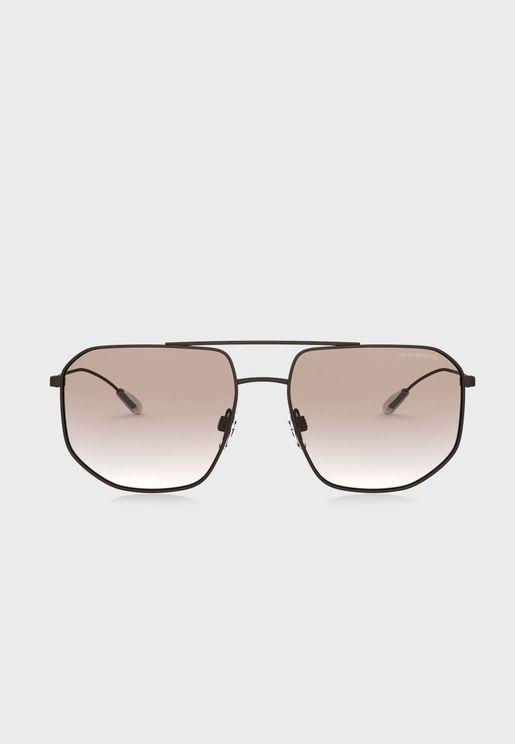 0EA2097 Oversized Sunglasses