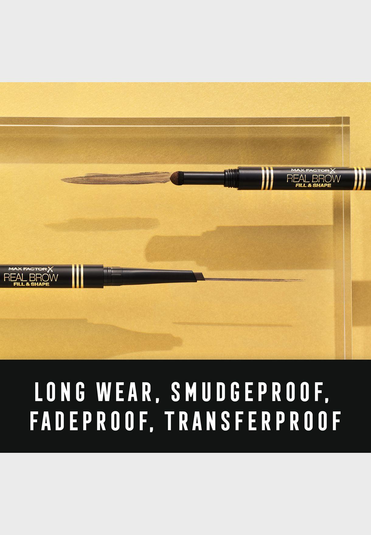 قلم الحواجب ريل براو فِل اند شايب 03 بني متوسط