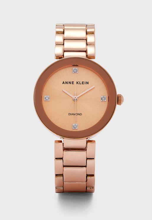 Ak2688Rgrg Analog Watch