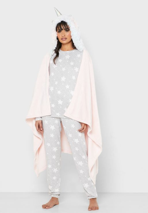 Unicorn Ombre Blanket
