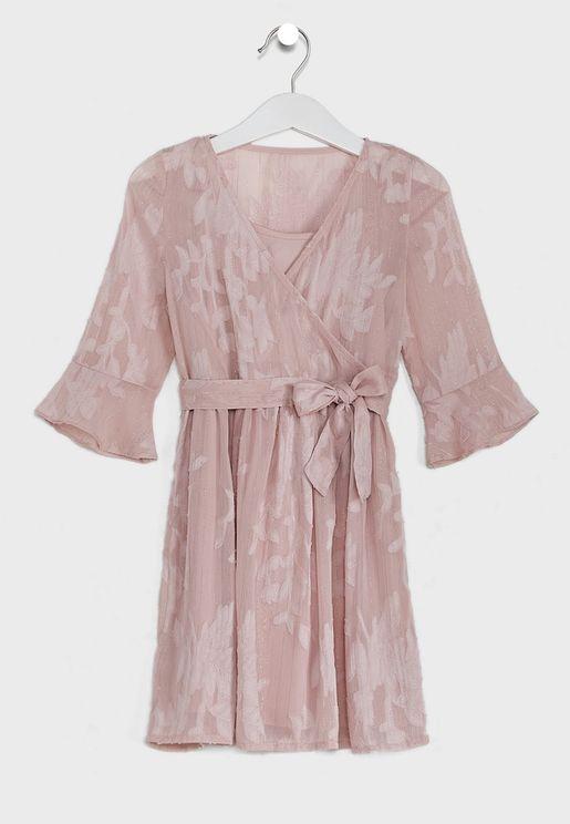 Little Candy Wrap Dress