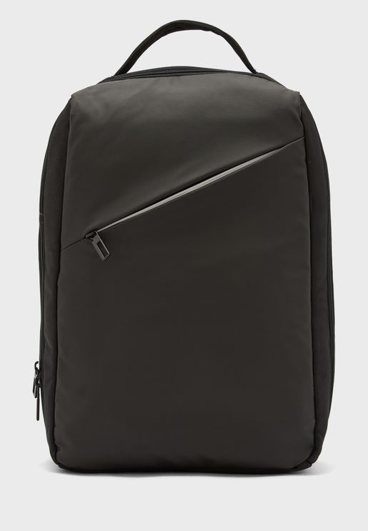 Laptop Back Pack With Partition And Trolley Sleeve