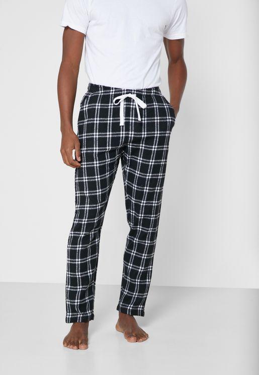 Checked Bottoms Pyjama