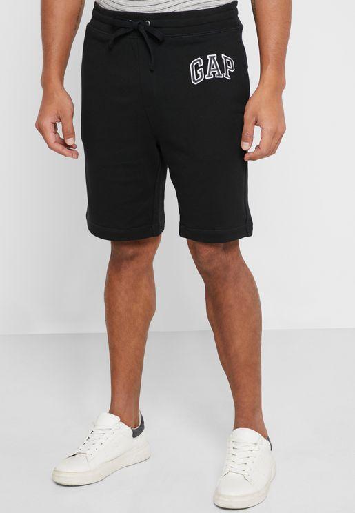 Logo Tie Waist Shorts