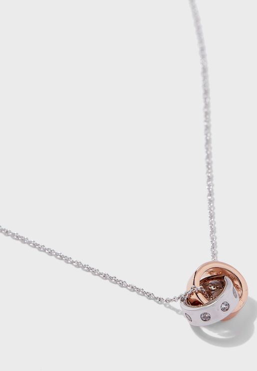Rosa Pendant Necklace