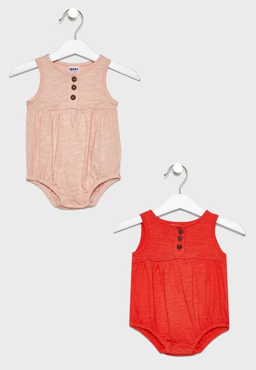 Infant 2 Pack Casual Bodysuit