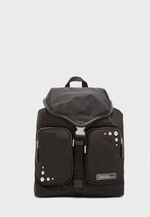 Pocket Detail Backpack
