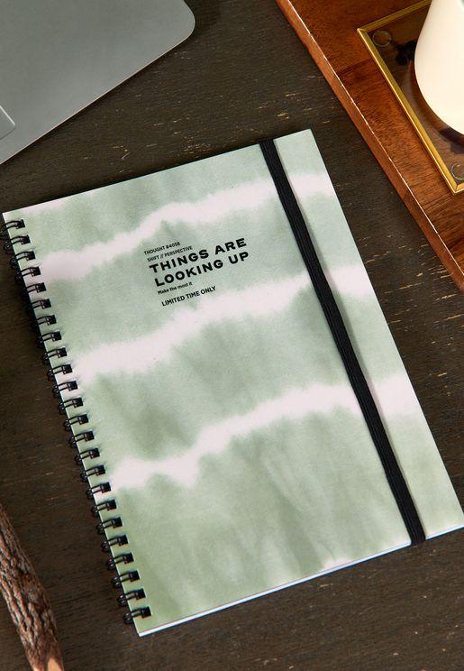 دفتر ملاحظات مسطر