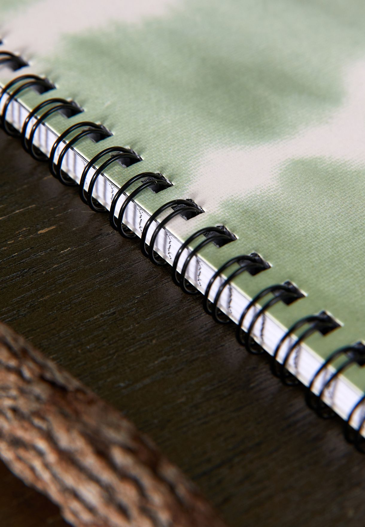 A5 Tie Dye Looking Up Spinout Notebook