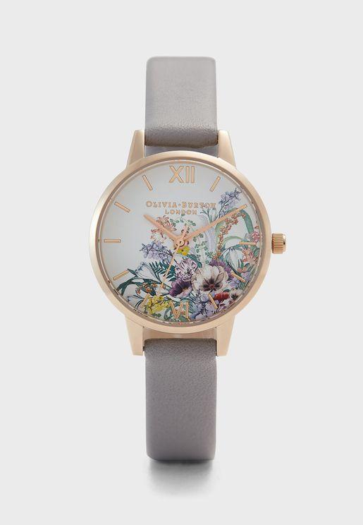 Enchanted Garden Analog Watch