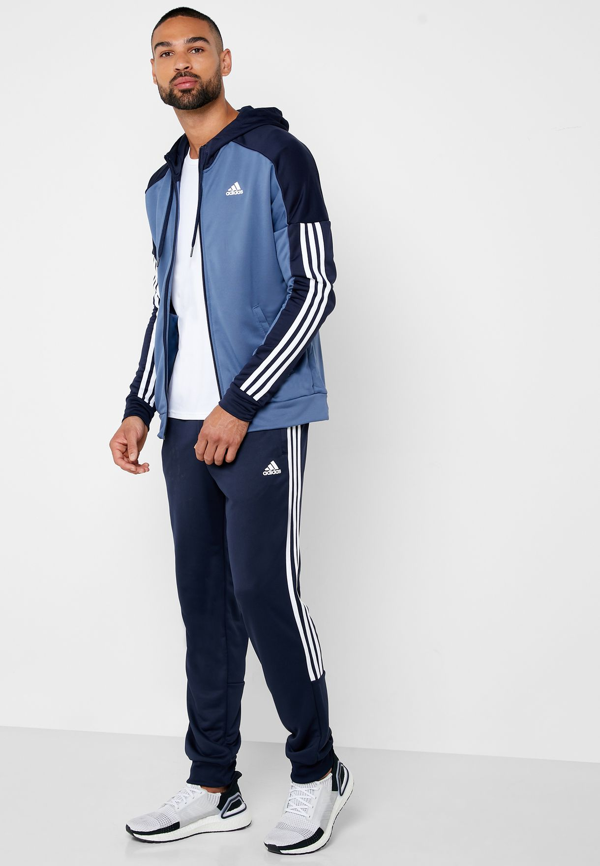 1cbe58ea6 Shop adidas blue MTS Game Time Tracksuit EB7652 for Men in UAE ...