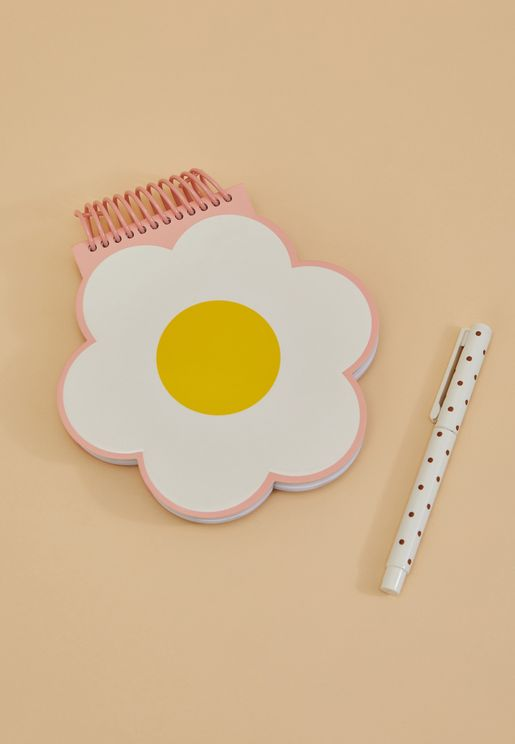 Super Fun Daisy Notebook