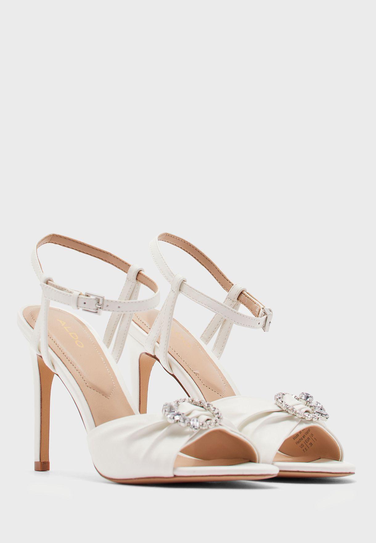 Zaossa Ankle Strap High Heel Sandal