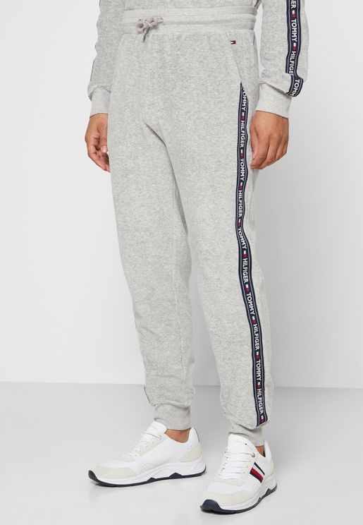 Ribbed Texture Sweatpants