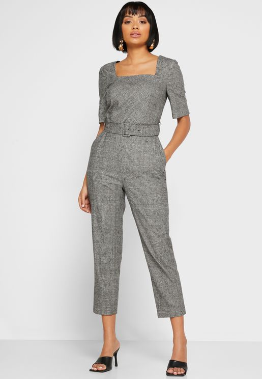 Dr Sage Square Neck Jumpsuit