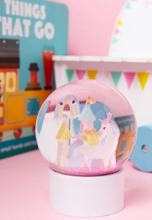 Glitter Enchanted Globe