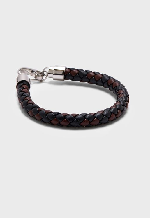 Hook Closure Braided Bracelet