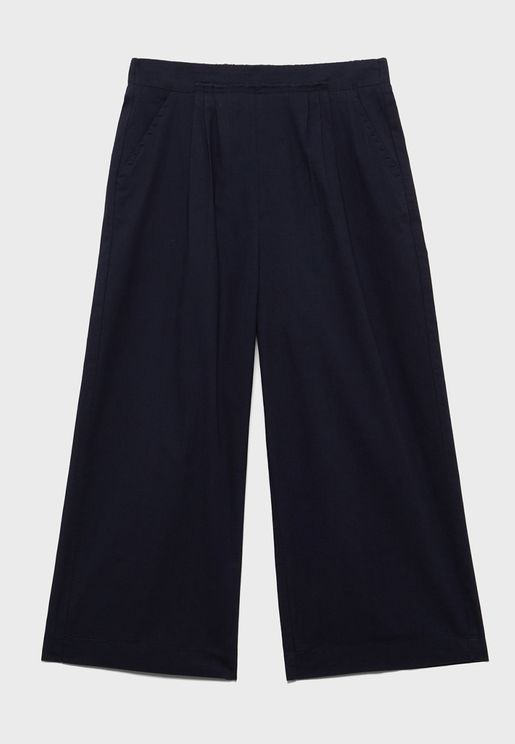 Youth Pleated Trousers