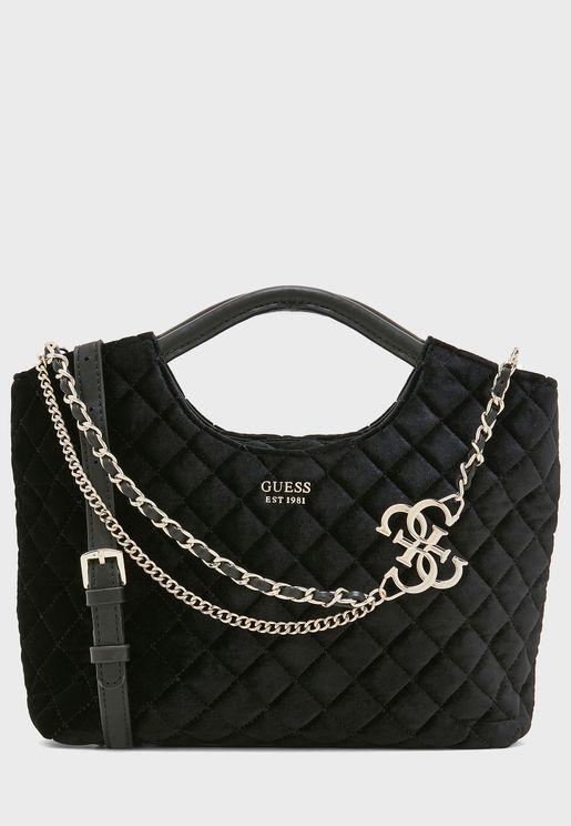 Small Miriam Chain Detail Shopper