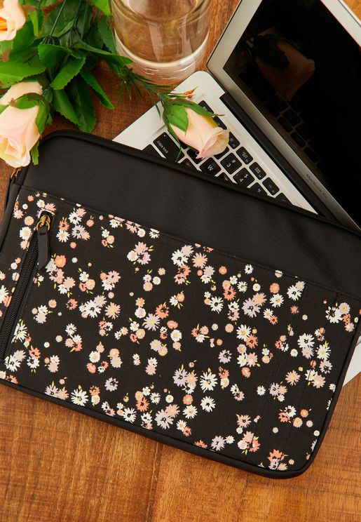 "13"" Dolly Daisy Take Charge Laptop Case"
