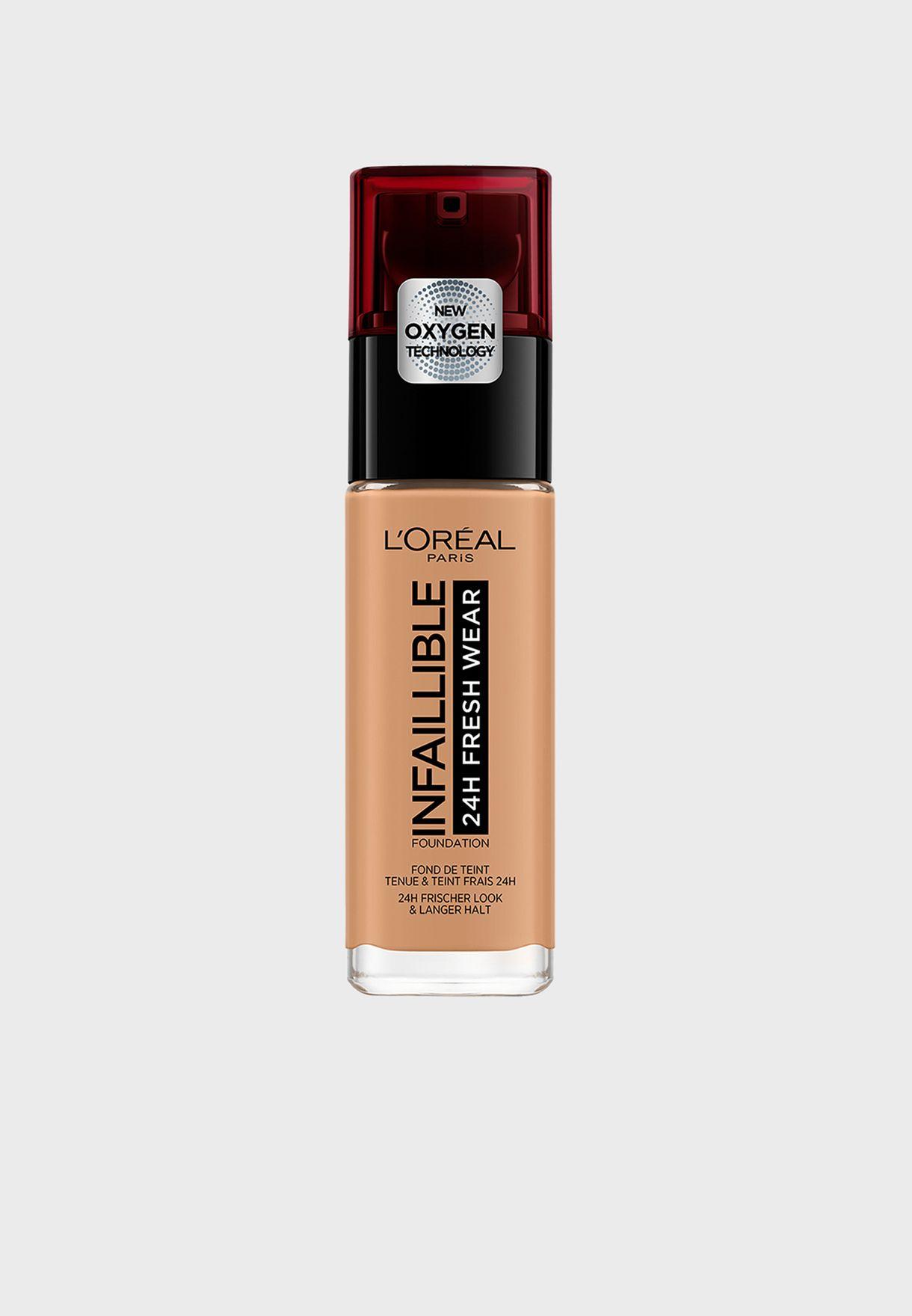 Infallible Liquid Foundation - 290 Golden Amber
