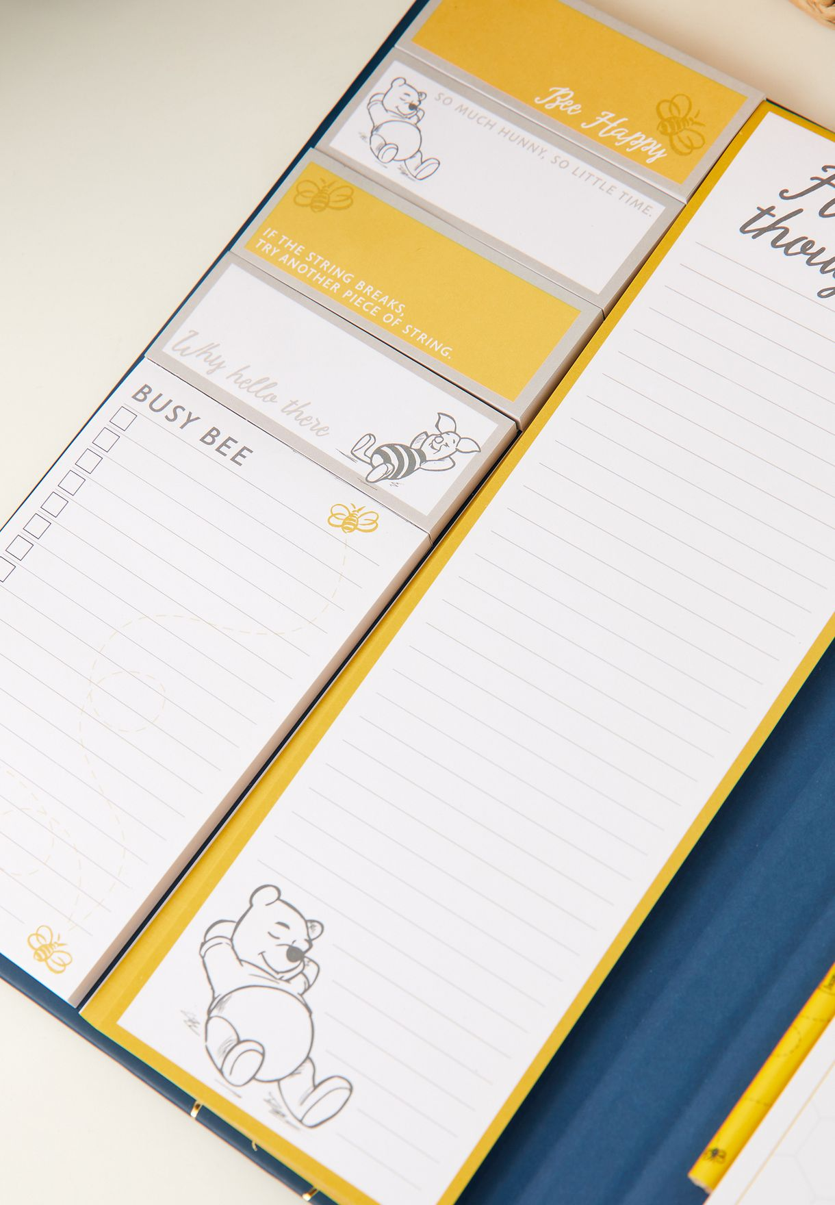 A4 Winnie The Pooh Notebook