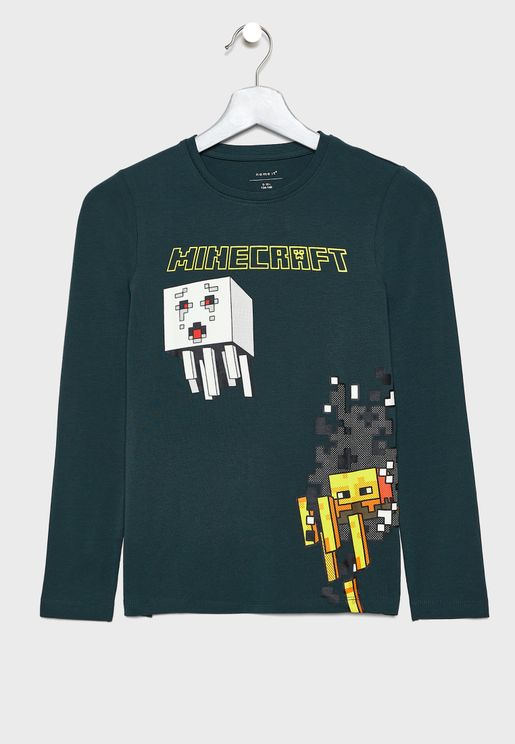 Kids Minecraft T-Shirt