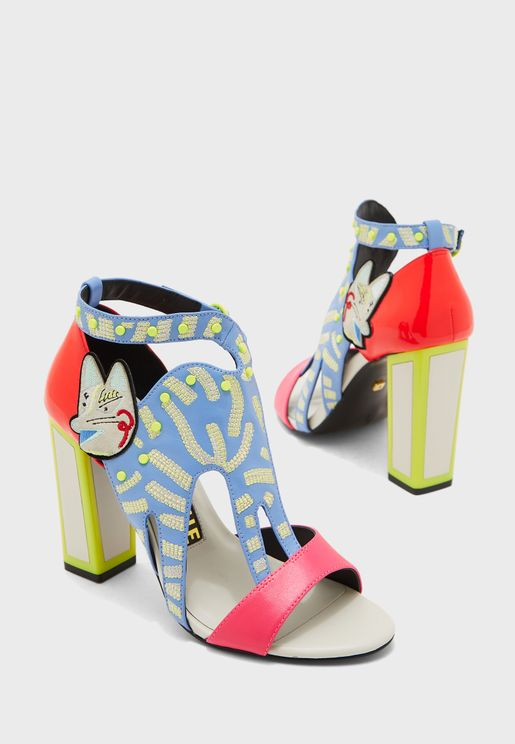 Zanna Block Heel Sandal