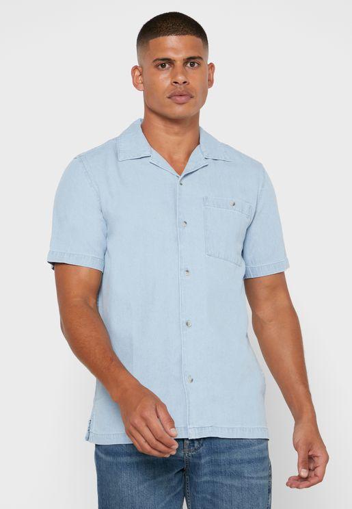 Denim Rivere Collar Shirt