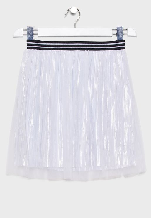 Teen Pleated Skirt