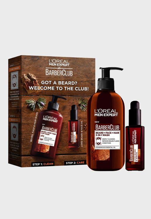 Barber Club Beard Kit