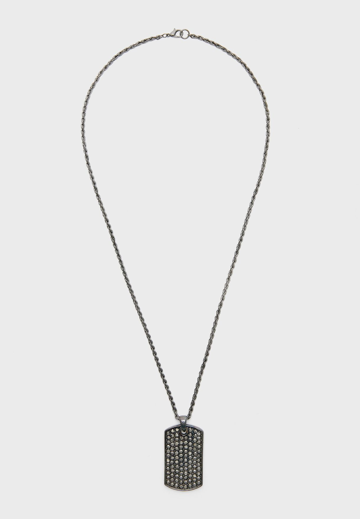 Thaswen Tag Pendant Necklace