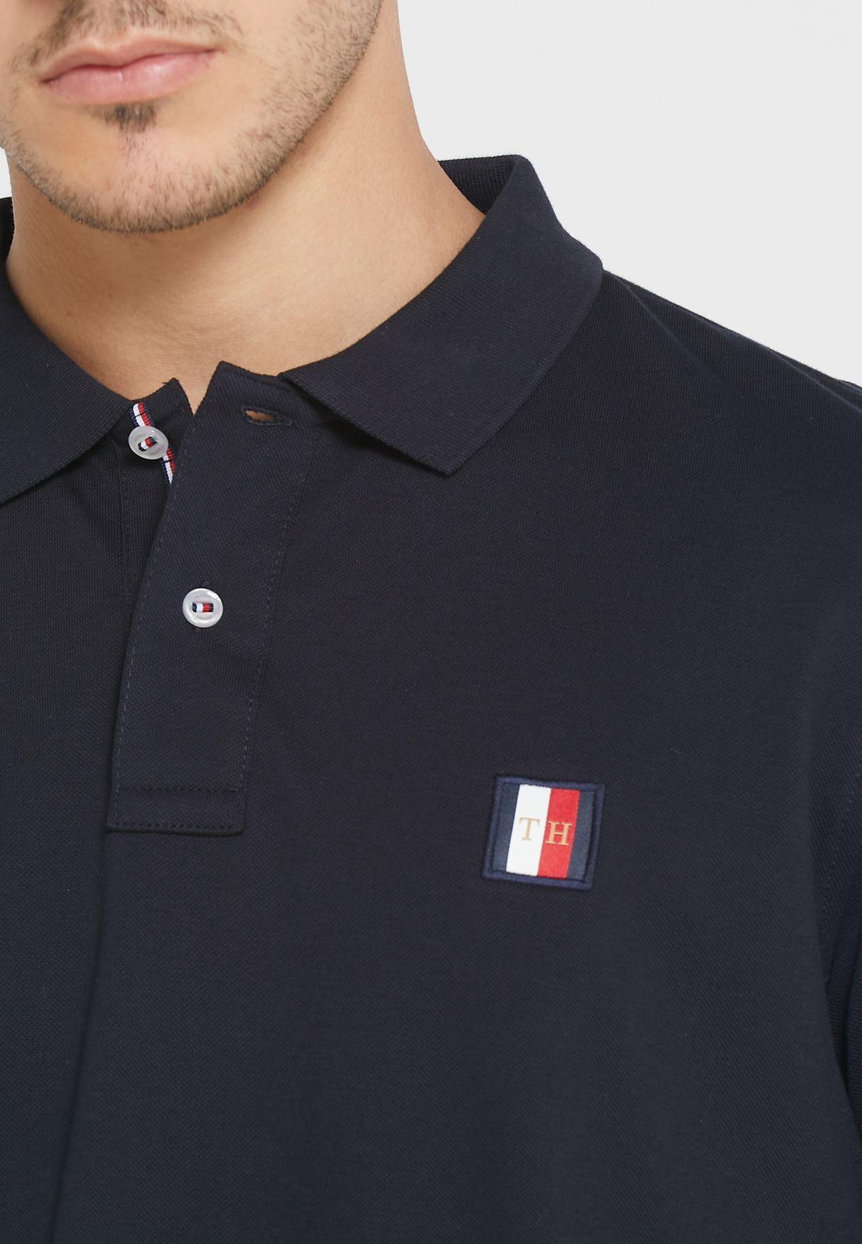 Icon Mini Badge Regular Fit Polo