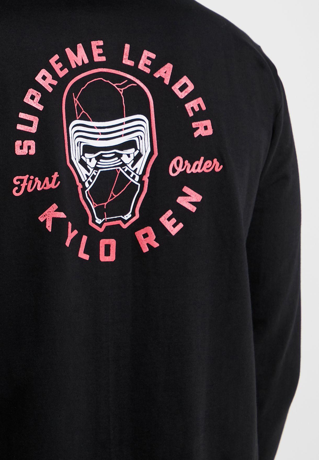 Kylo Ren Supreme Leader Hoodie