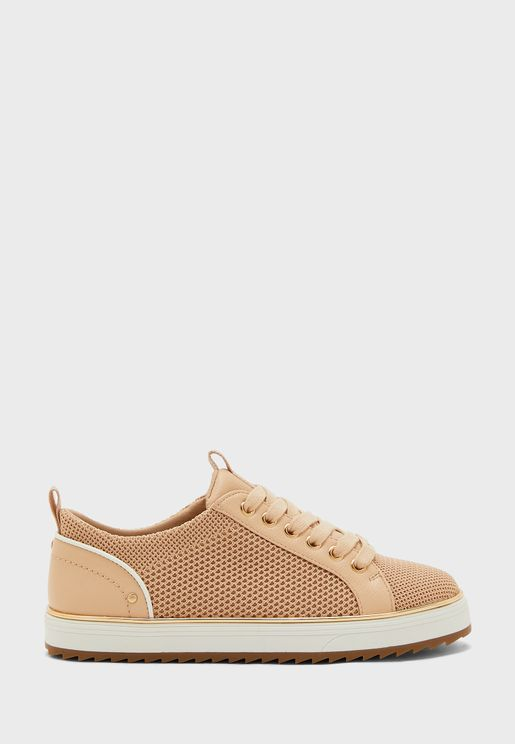 Knitted Low Top Sneaker