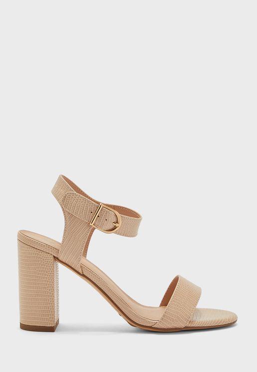 Vims 6 Mid Heel Sandal
