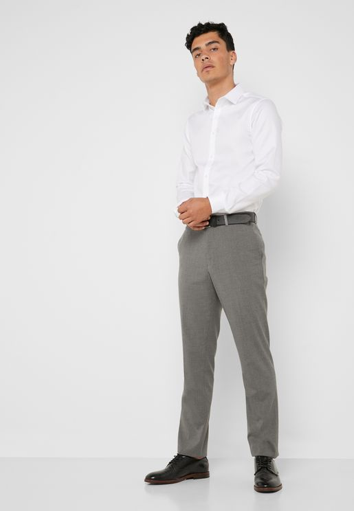 d63061c4d49a3 Essential Slim Fit Trousers