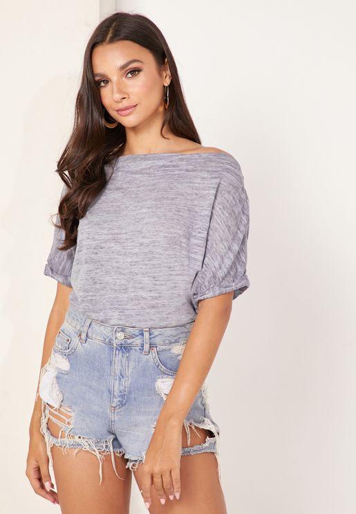 Astrid Textured T-Shirt