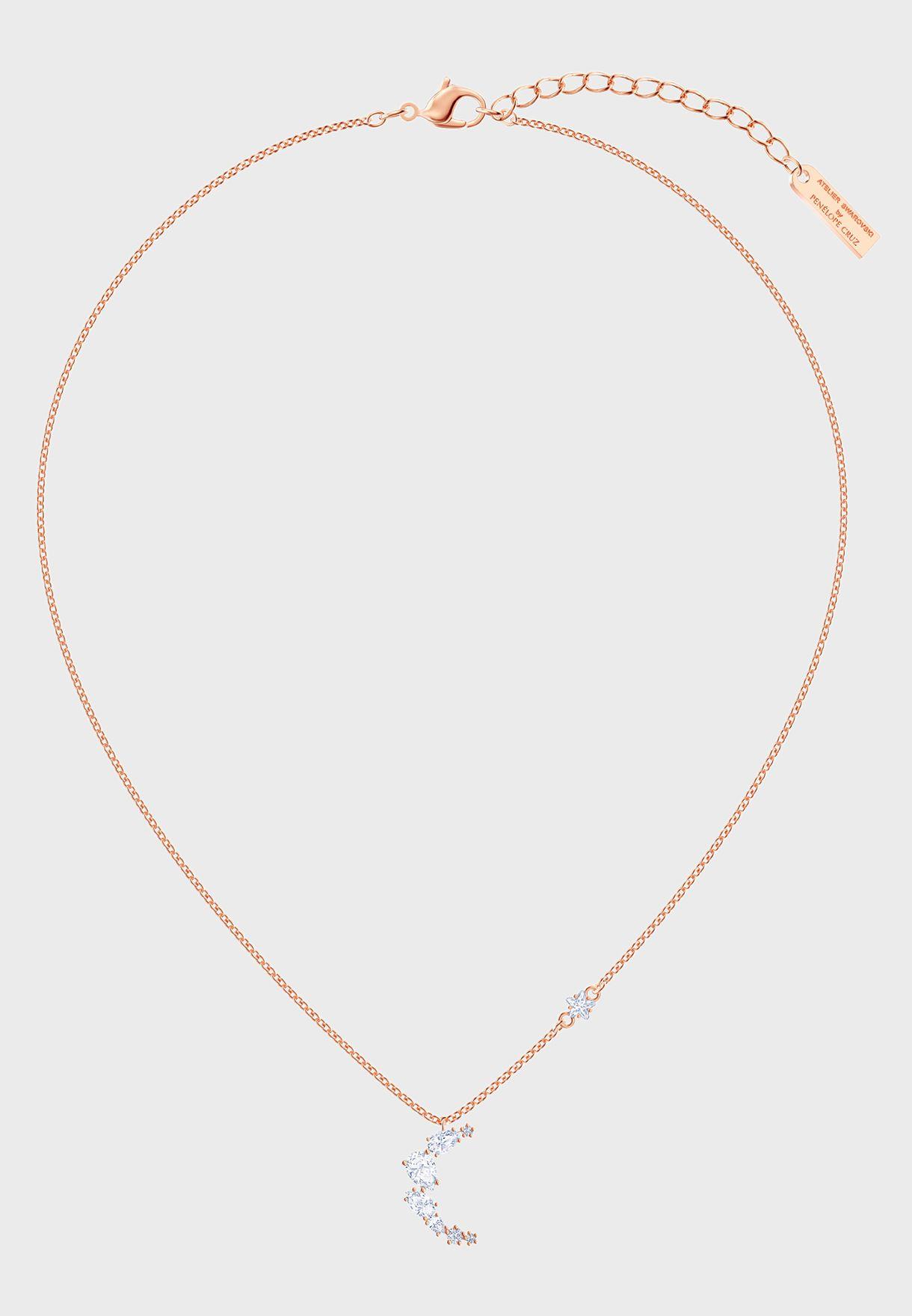 Moonsun Moon Pendant Necklace