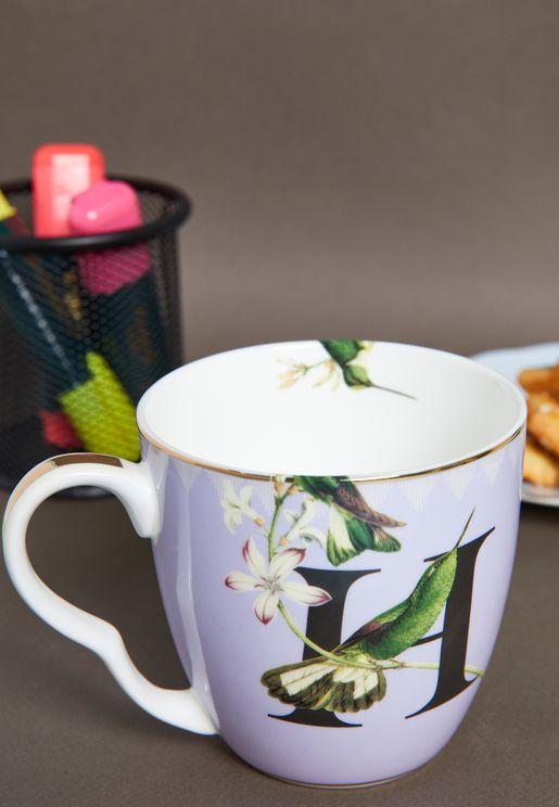 Alphabet Mug - Hummingbird