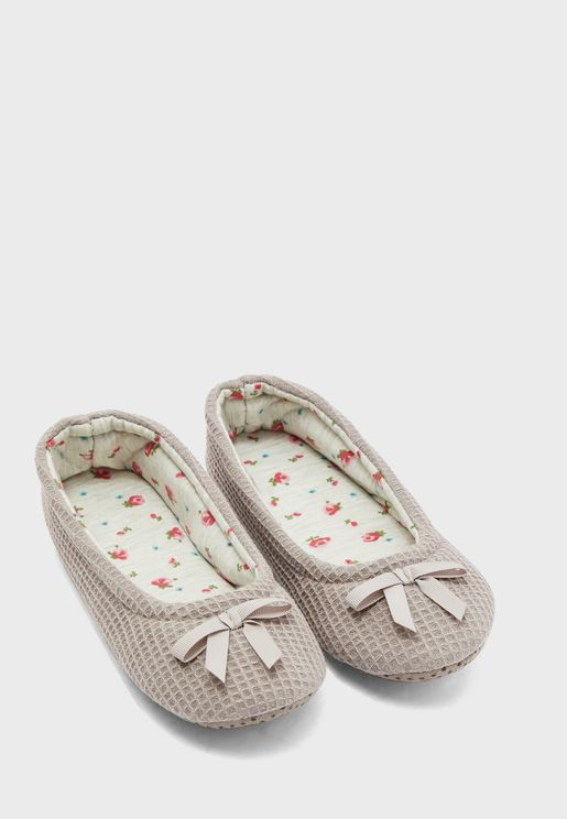 Waffle Ballet Slippers