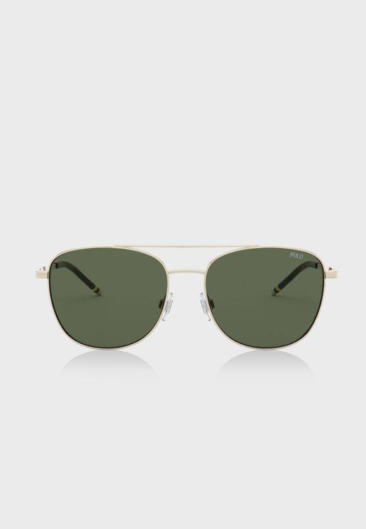 0PH3127 Aviator Sunglasses