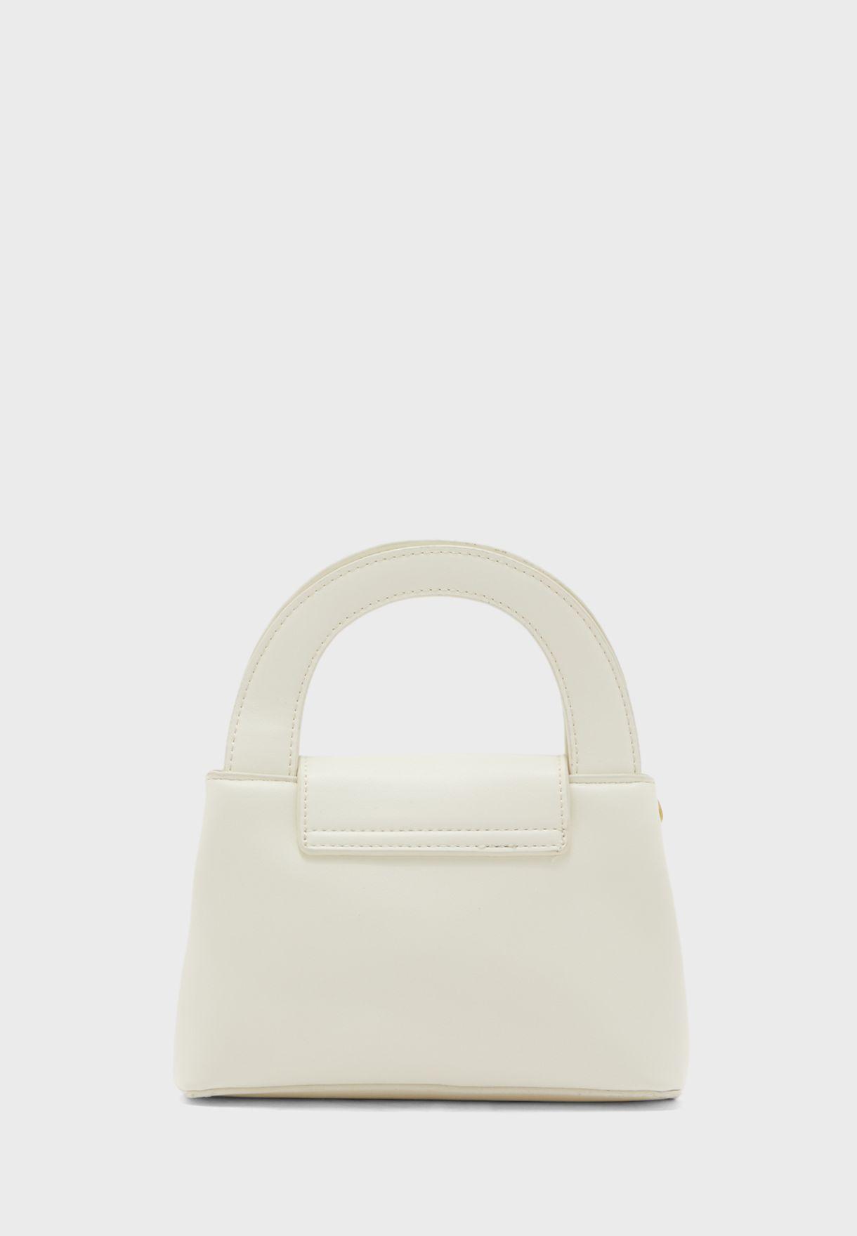 Minimal Half Circle Handle Handbag